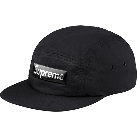 Liquid Metal Logo Camp Cap (Black)