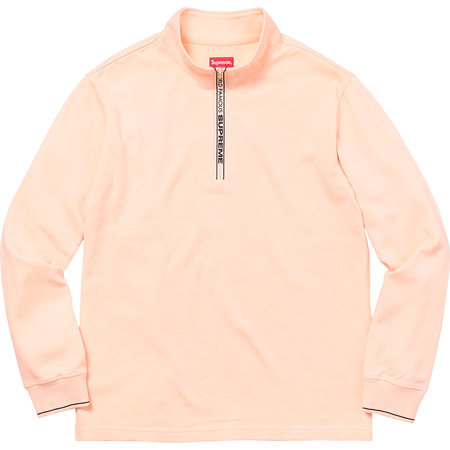World Famous Half Zip Pullover (Peach)
