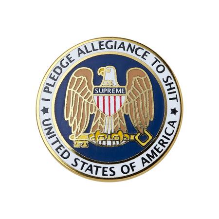 Pledge Allegiance Pin (Gold)