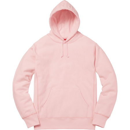 Embossed Logo Hooded Sweatshirt (Pale Pink)