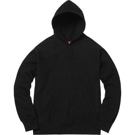 Embossed Logo Hooded Sweatshirt (Black)