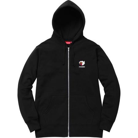 Gonz Ramm Zip Up Sweatshirt (Black)