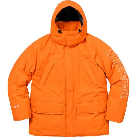 700-Fill Down Taped Seam Parka (Orange)
