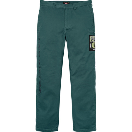 Supreme®/UNDERCOVER/Public Enemy Work Pant (Dusty Teal)