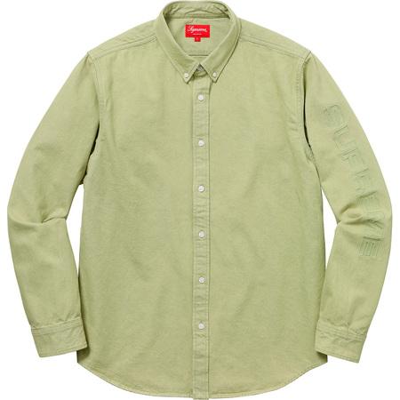 Denim Shirt (Lime)