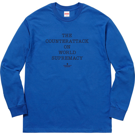 Supreme®/UNDERCOVER/Public Enemy Counterattack L/S Tee (Royal)