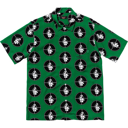 Supreme®/UNDERCOVER/Public Enemy Rayon Shirt (Green)