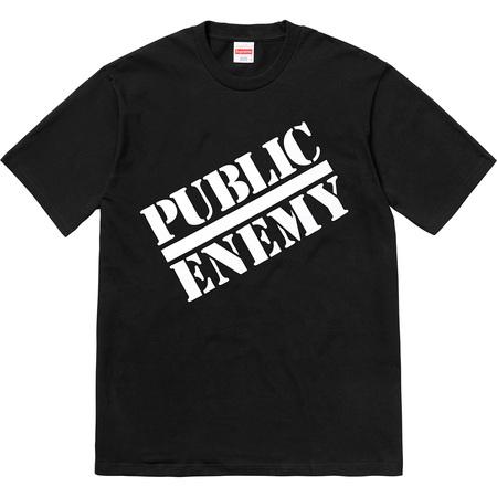 Supreme®/UNDERCOVER/Public Enemy Tee (Black)
