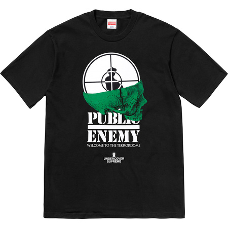 Supreme®/UNDERCOVER/Public Enemy Terrordome Tee (Black)