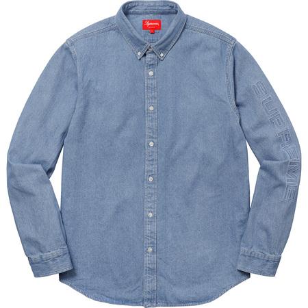 Denim Shirt (Blue)