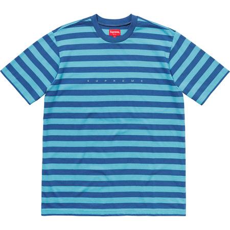 Bar Stripe Tee (Blue)