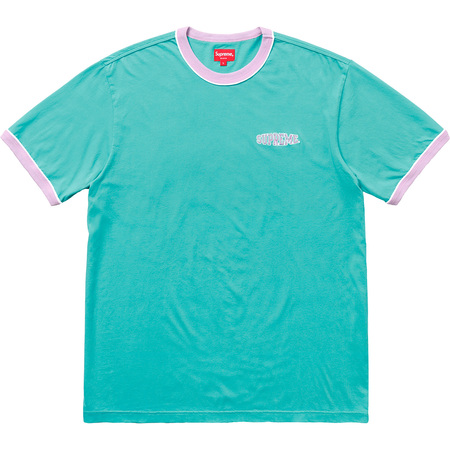 Piping Ringer Tee (Teal)