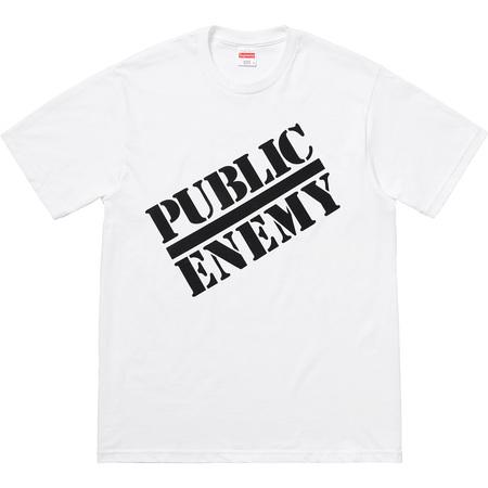 Supreme®/UNDERCOVER/Public Enemy Tee (White)