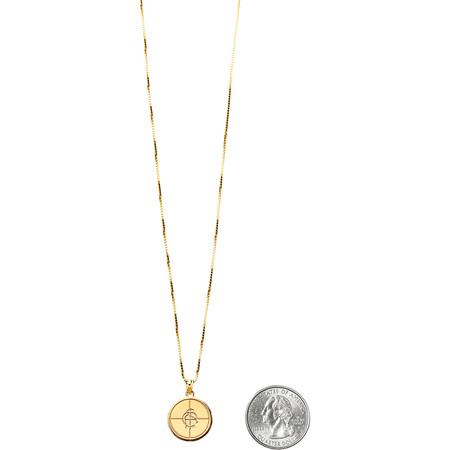 Supreme®/UNDERCOVER/Public Enemy 14K Gold Pendant (Gold)