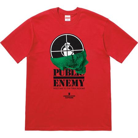 Supreme®/UNDERCOVER/Public Enemy Terrordome Tee (Red)
