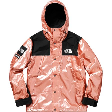 Supreme®/The North Face® Metallic Mountain Parka (Rose Gold)