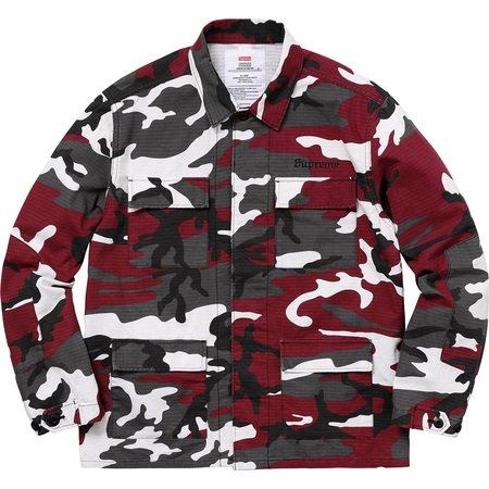 Supreme/Hellraiser BDU Shirt (Red Camo)