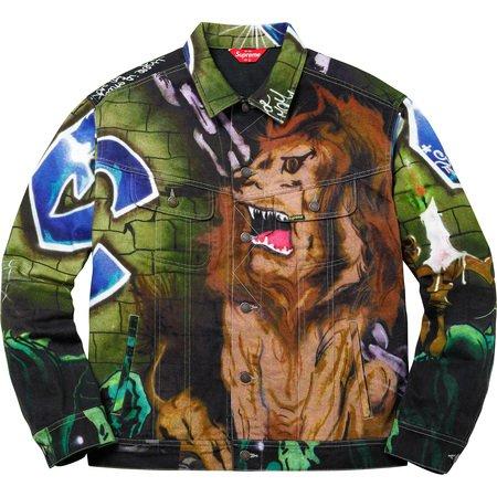 Lion's Den Denim Trucker Jacket (Multi)