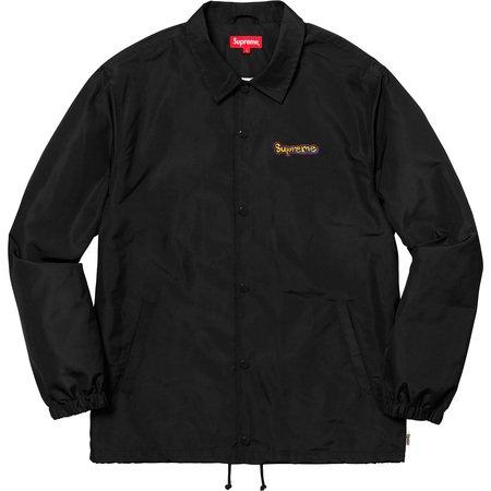 Gonz Logo Coaches Jacket (Black)