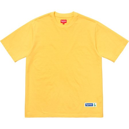 Athletic Label S/S Top (Yellow)