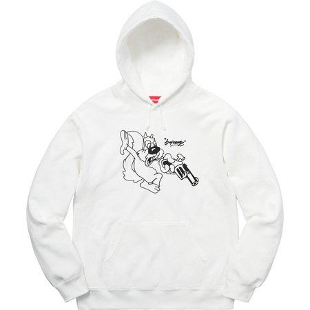 Lee Hooded Sweatshirt (White)
