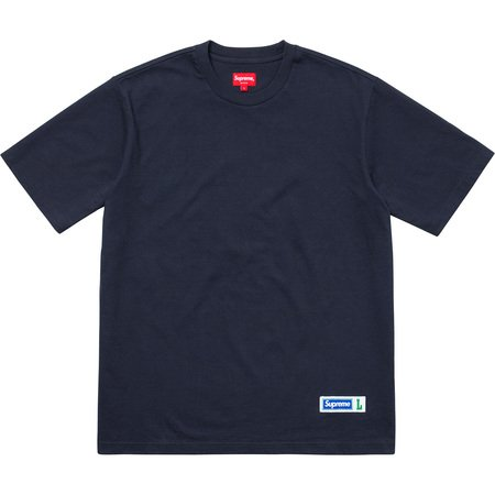 Athletic Label S/S Top (Navy)
