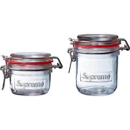 Jar Set (Set of 2) (Clear)