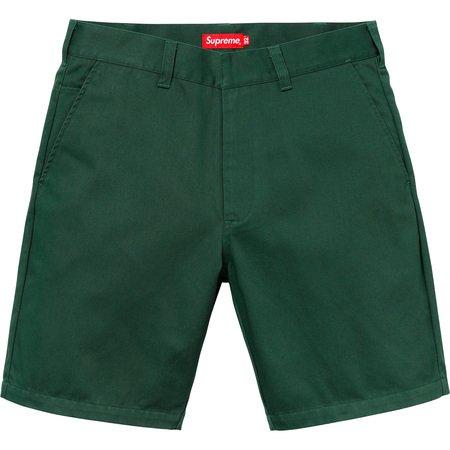 Work Short (Dark Green)