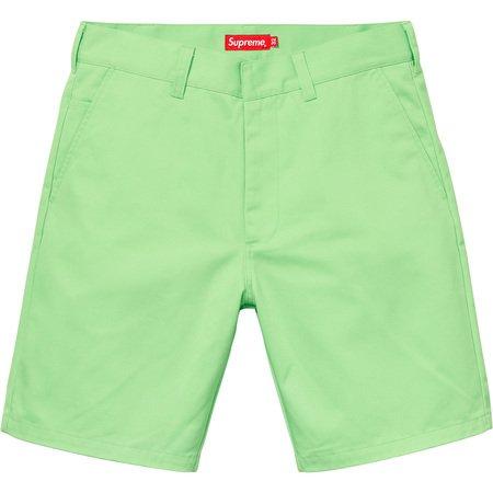 Work Short (Light Green)