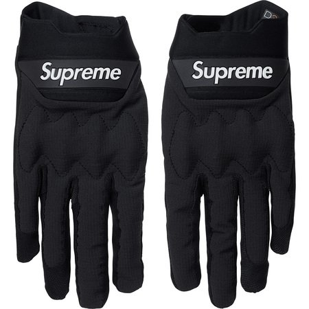 Supreme®/Fox Racing® Bomber LT Gloves (Black)