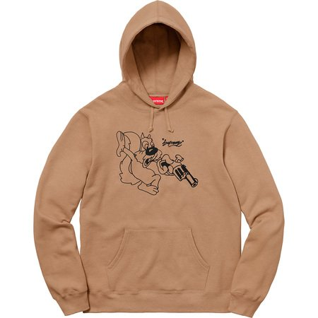 Lee Hooded Sweatshirt (Light Brown)