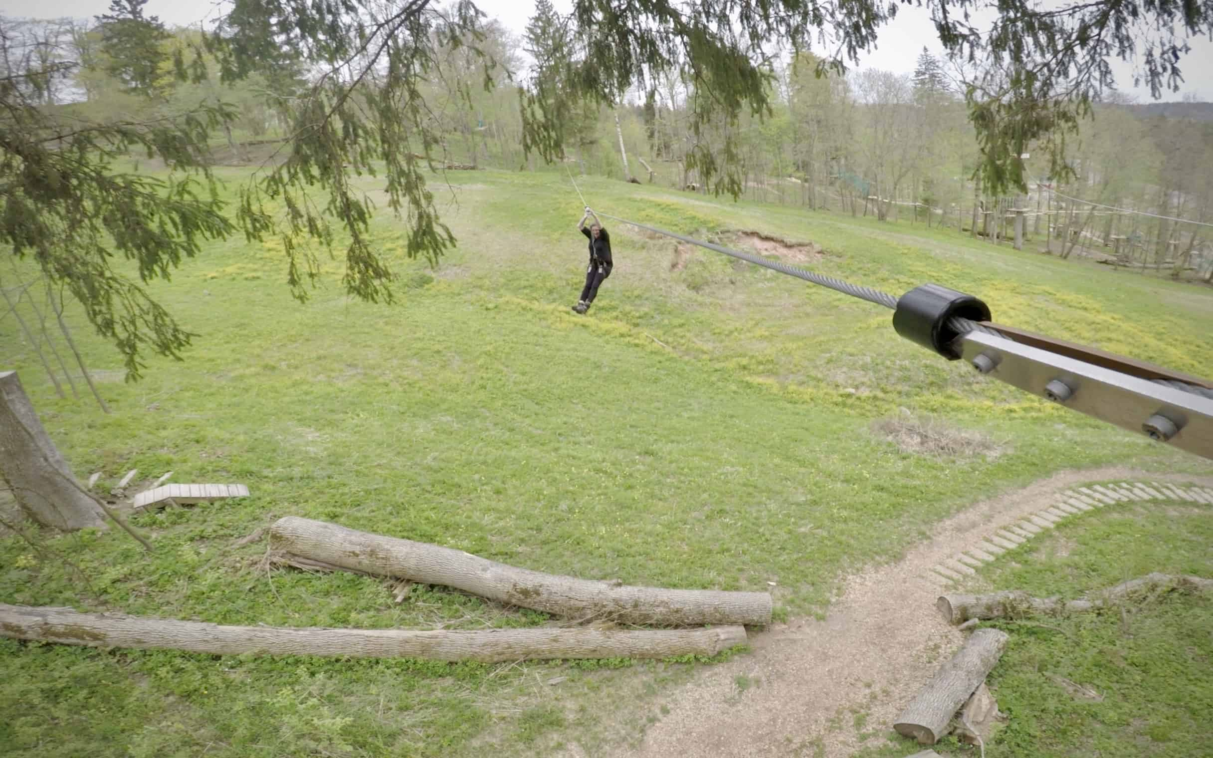 Sigulde Tarzans Latvia Gauja zipline Hannah