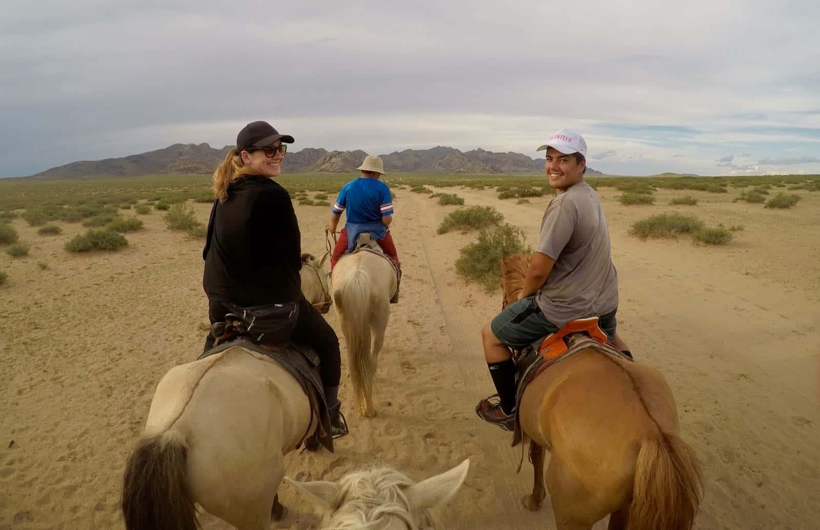 Hannah Piari Horse Trekking Nomads Mongolia betternotstop