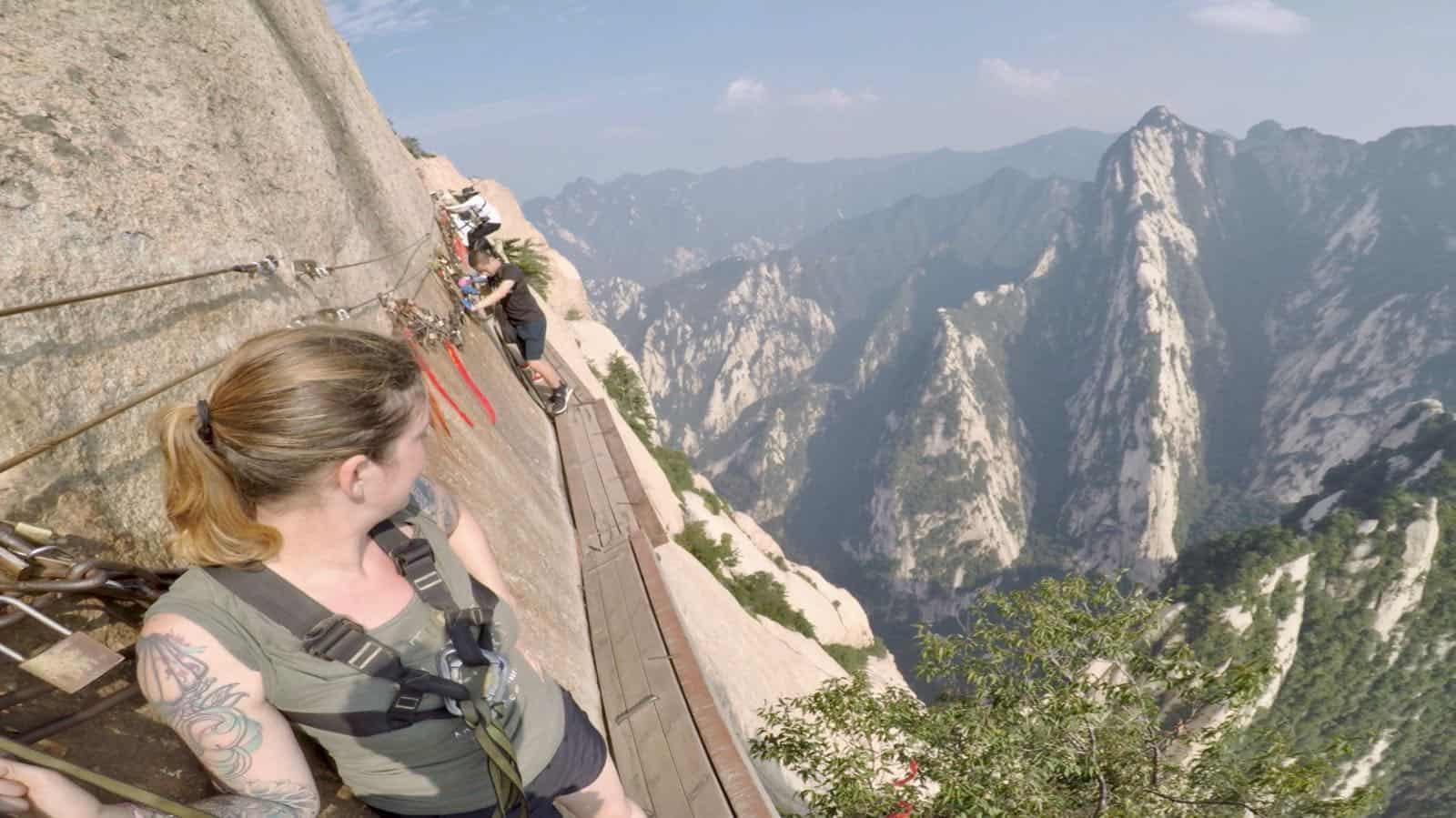Hannah Hua Shan mountain betternotstop China