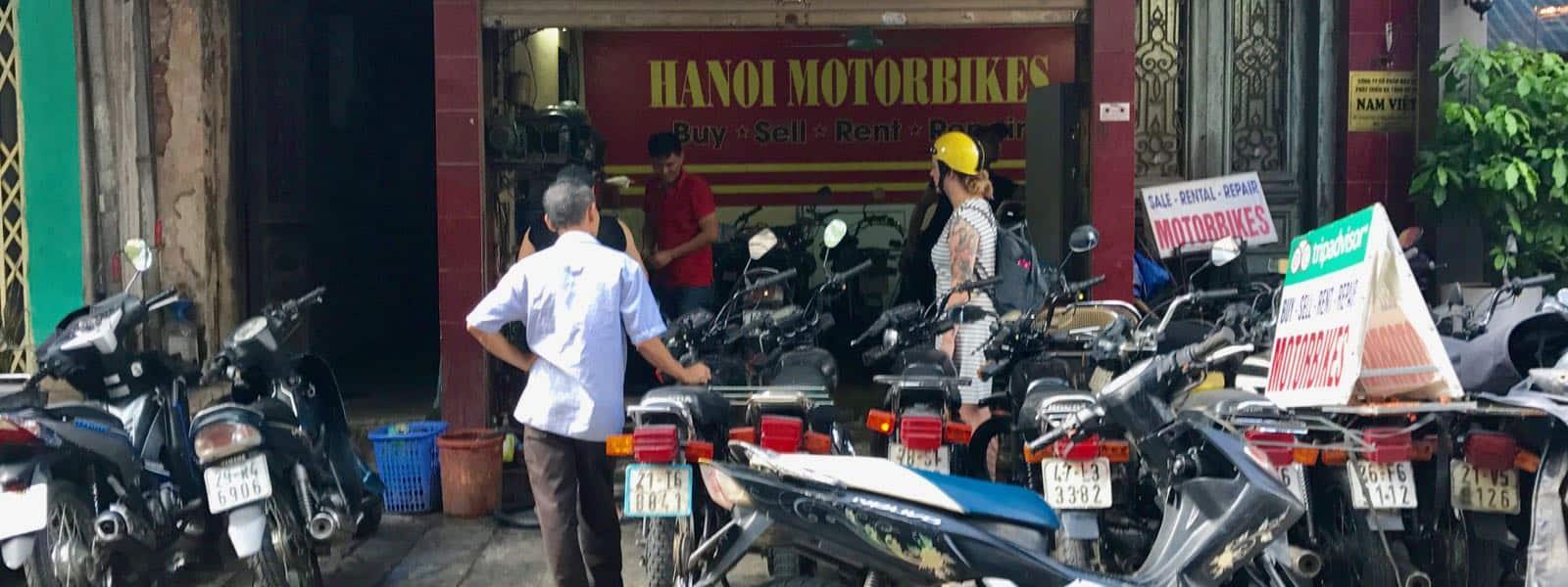 Hanoi Motorbikes Hannah betternotstop