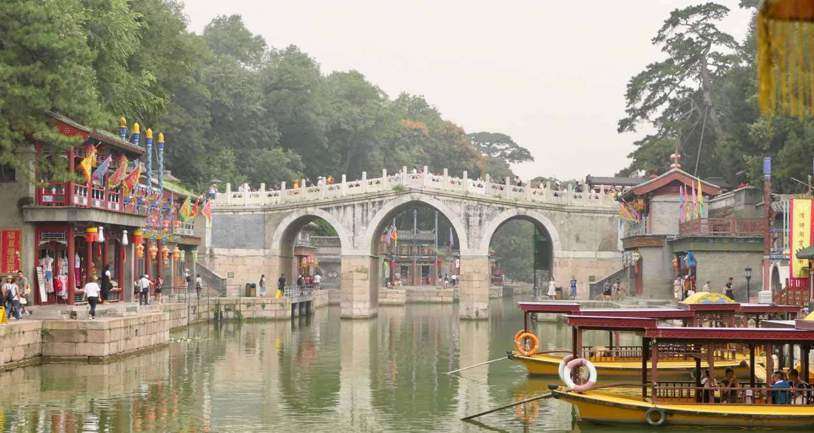 Souzhou Street Summer Palace Beijing China betternotstop