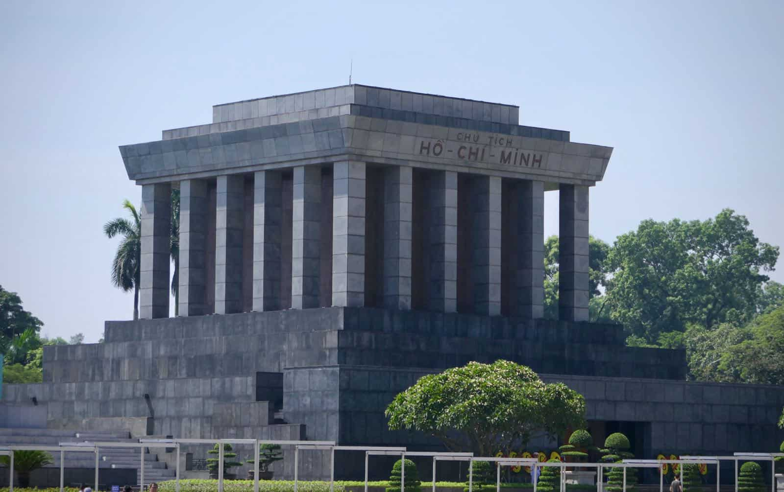 Ho Chi Minh Mauseleum Hanoi Vietnam betternotstop