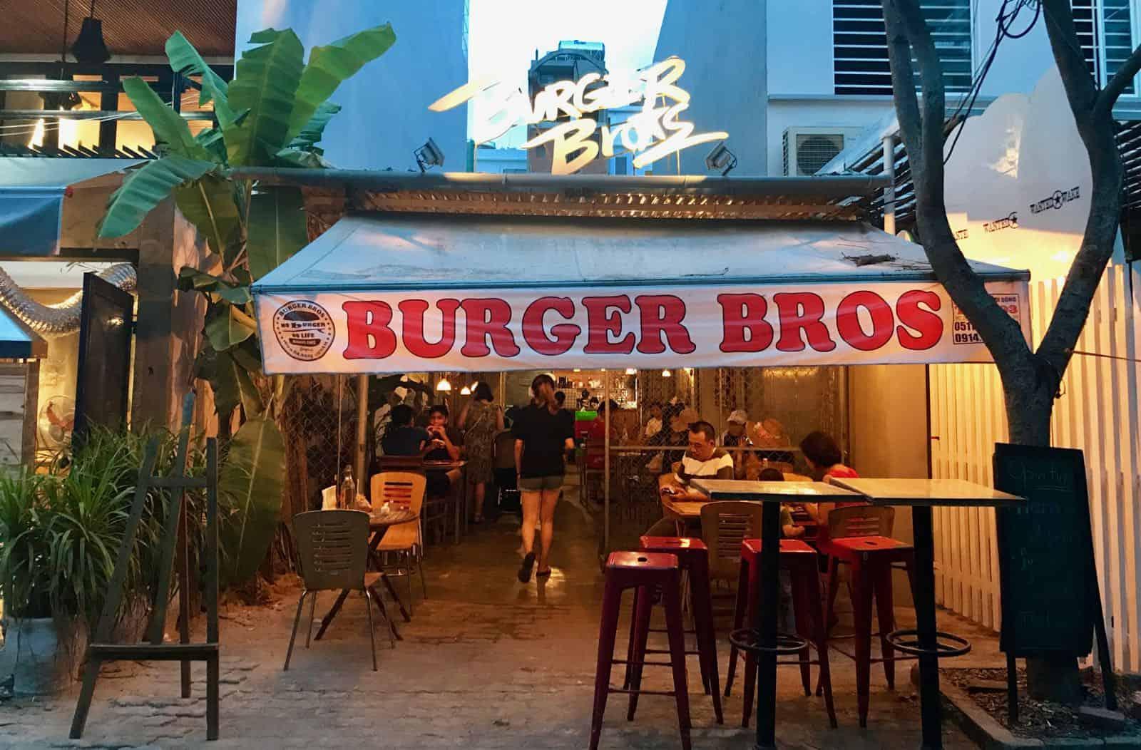 Burger Bros Da Nang Vietnam betternotstop