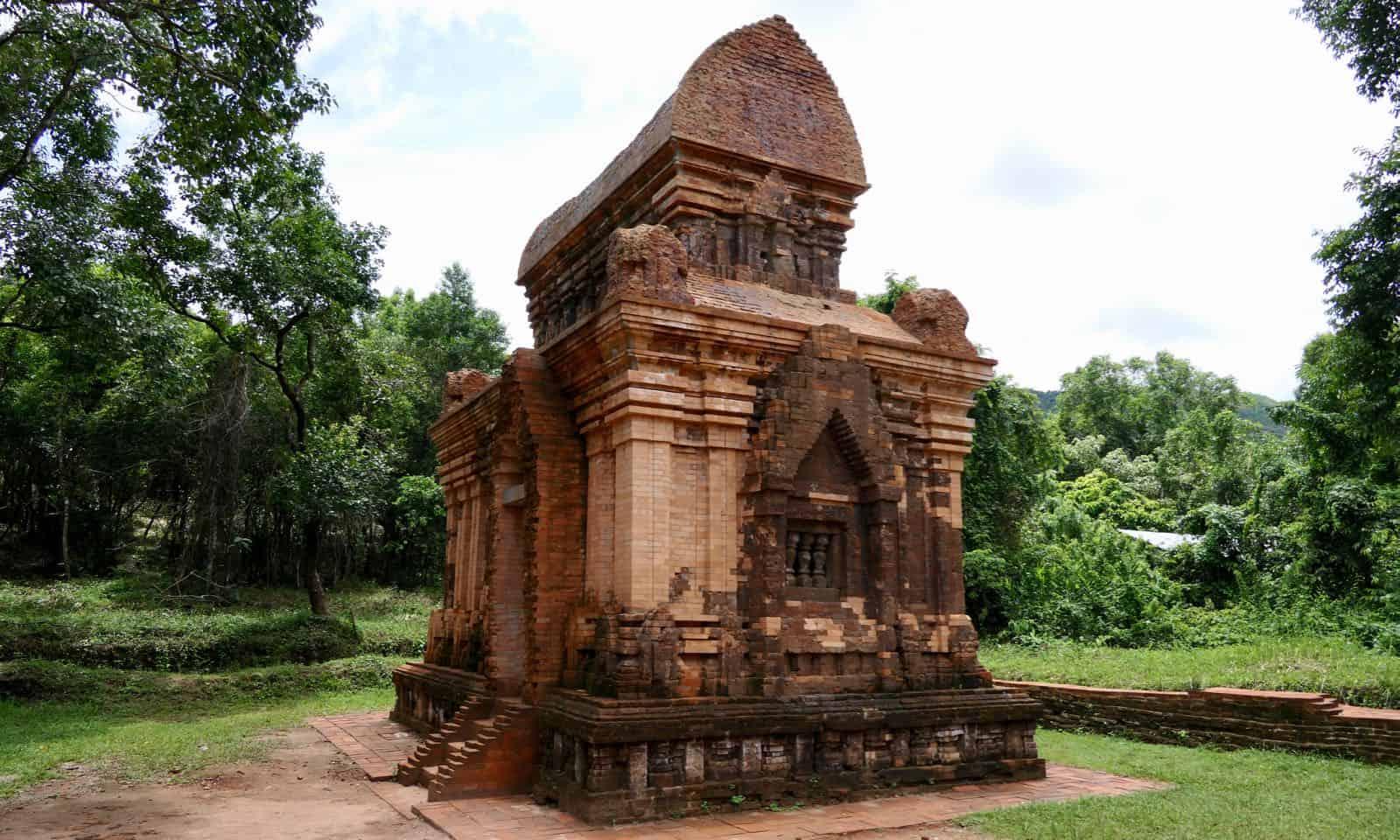 My Son reconstructed ruins Hoi An Vietnam betternotstop