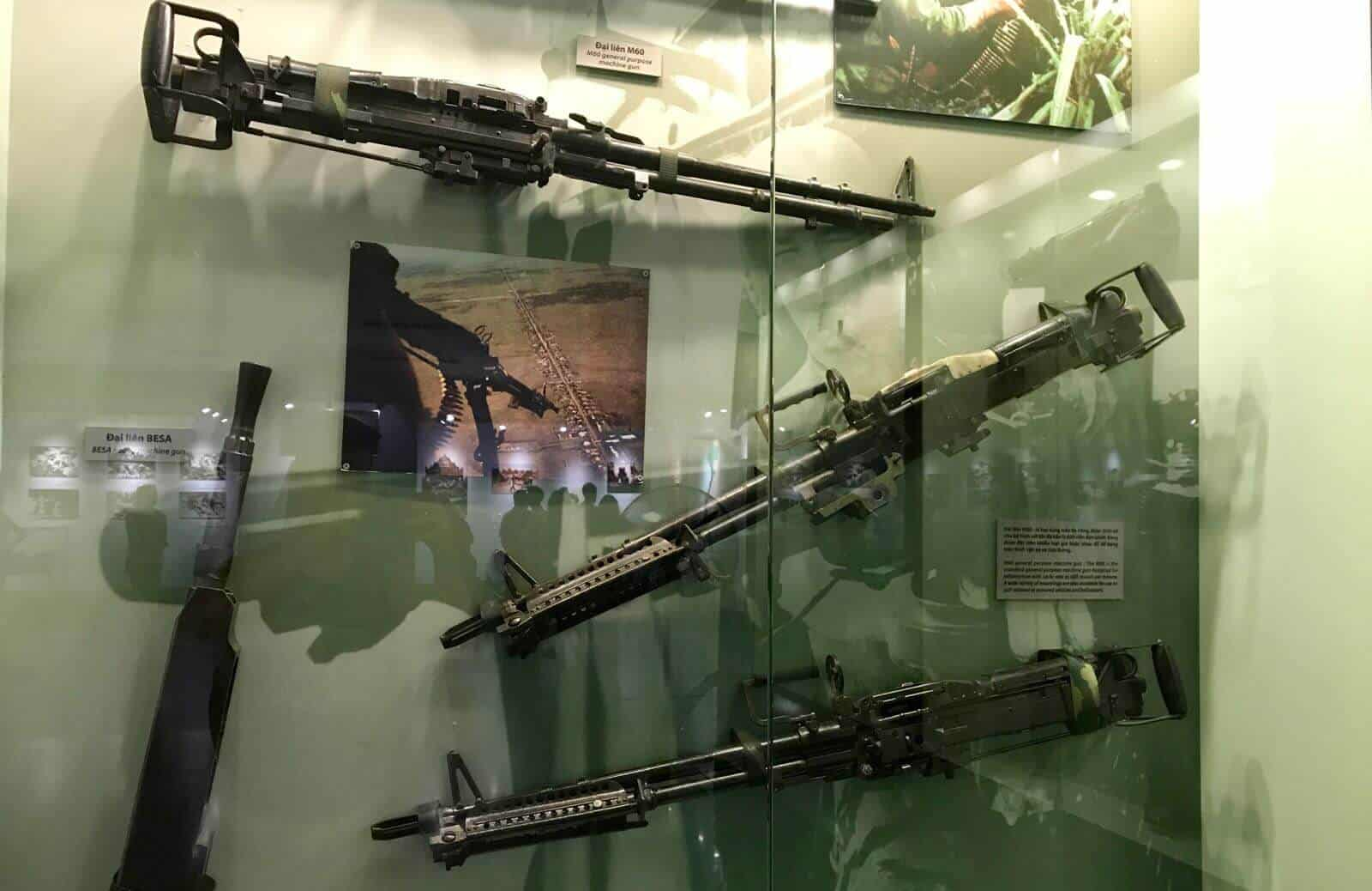 War Remnants Ho Chi Minh City Vietnam guns betternotstop