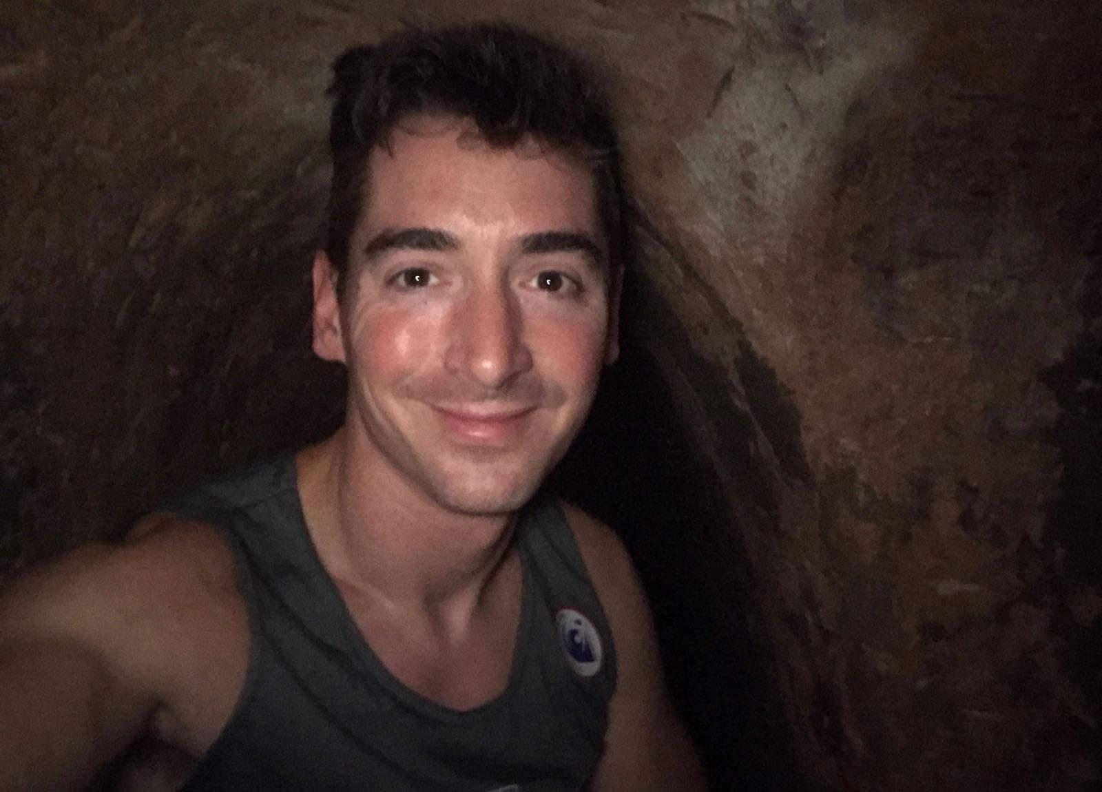 Phil Cu Chi tunnels underground tunnel rat Vietnam betternotstop