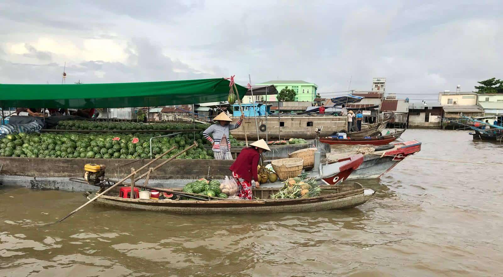 Floating Market Mekong Delta Vietnam betternotstop