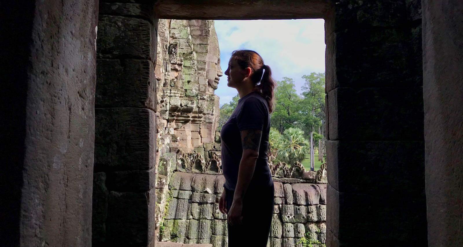 Angkor Thom betternotstop Cambodia Hannah