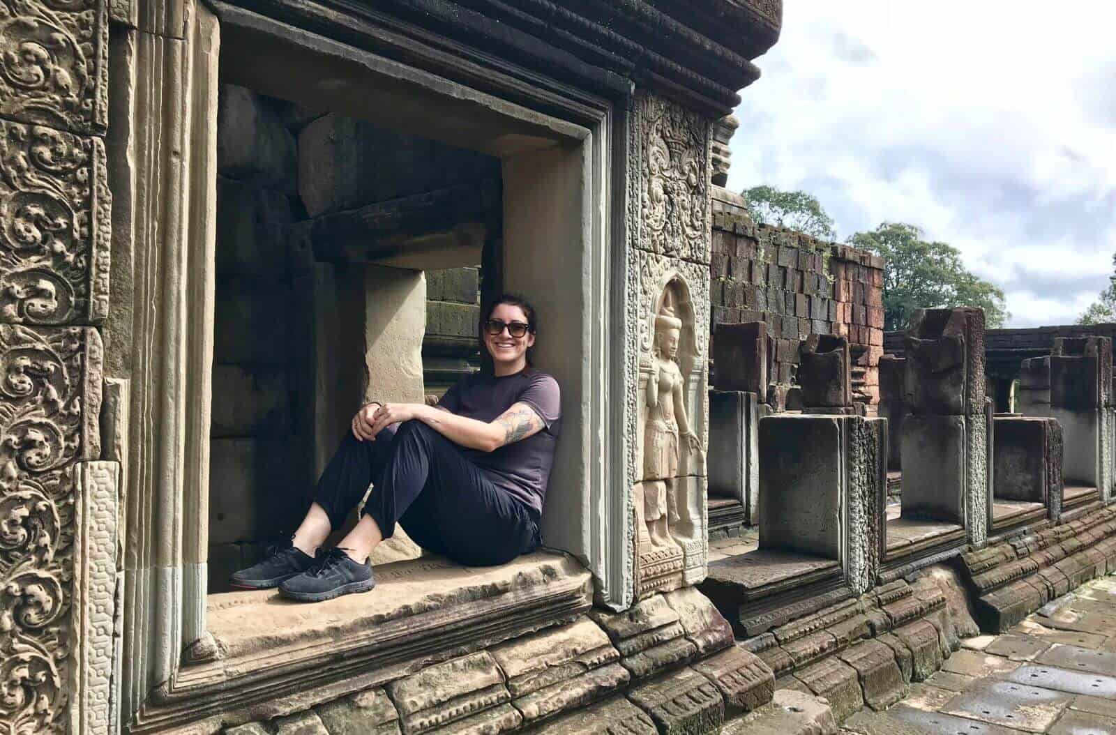 Angkor Thom betternotstop temples Hannah