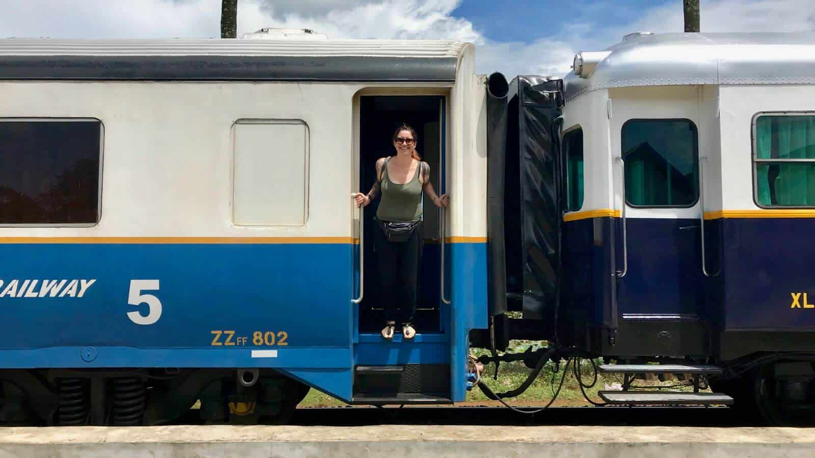 Cambodia Trains betternotstop Hannah