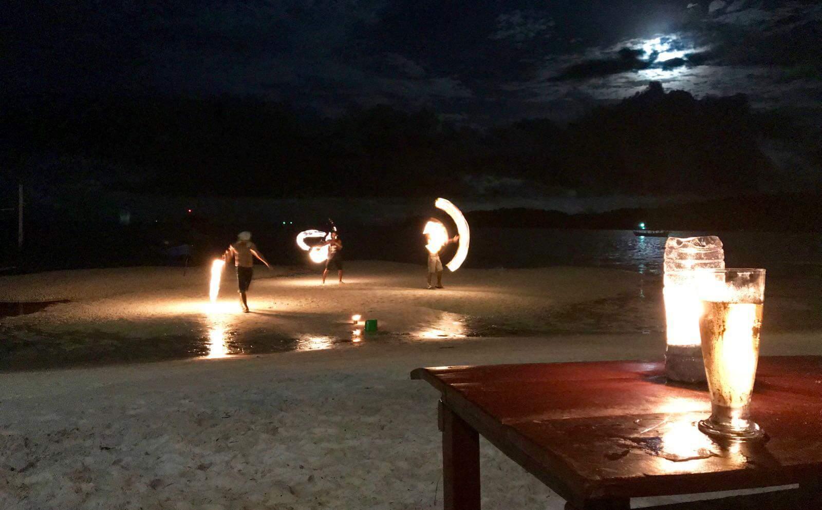 Tree Bar Koh Rong Sanloem Cambodia beach fun