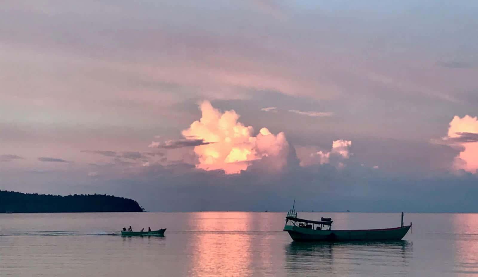 Koh Rong Sanloem betternotstop sunset adventure