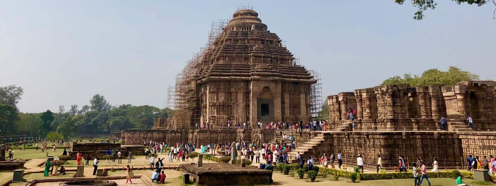 Konark Sun Temple betternotstop India Road Trip Puri