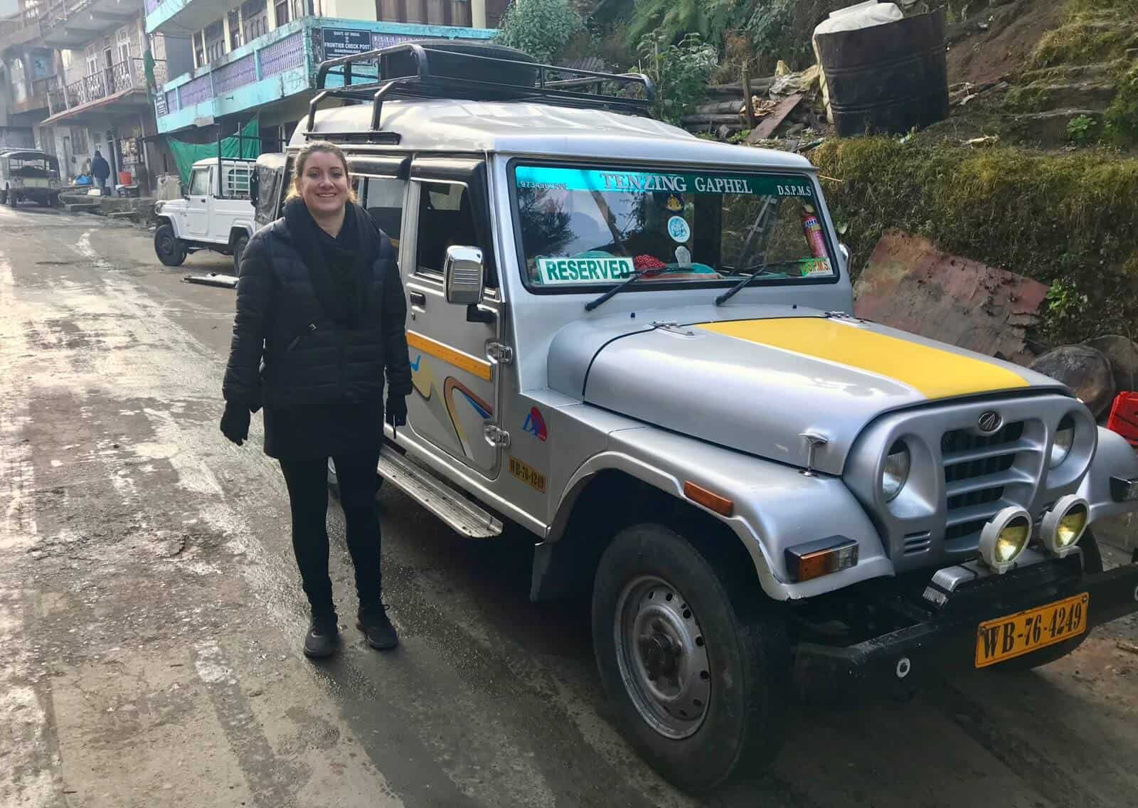Hannah nepal trekking betternotstop