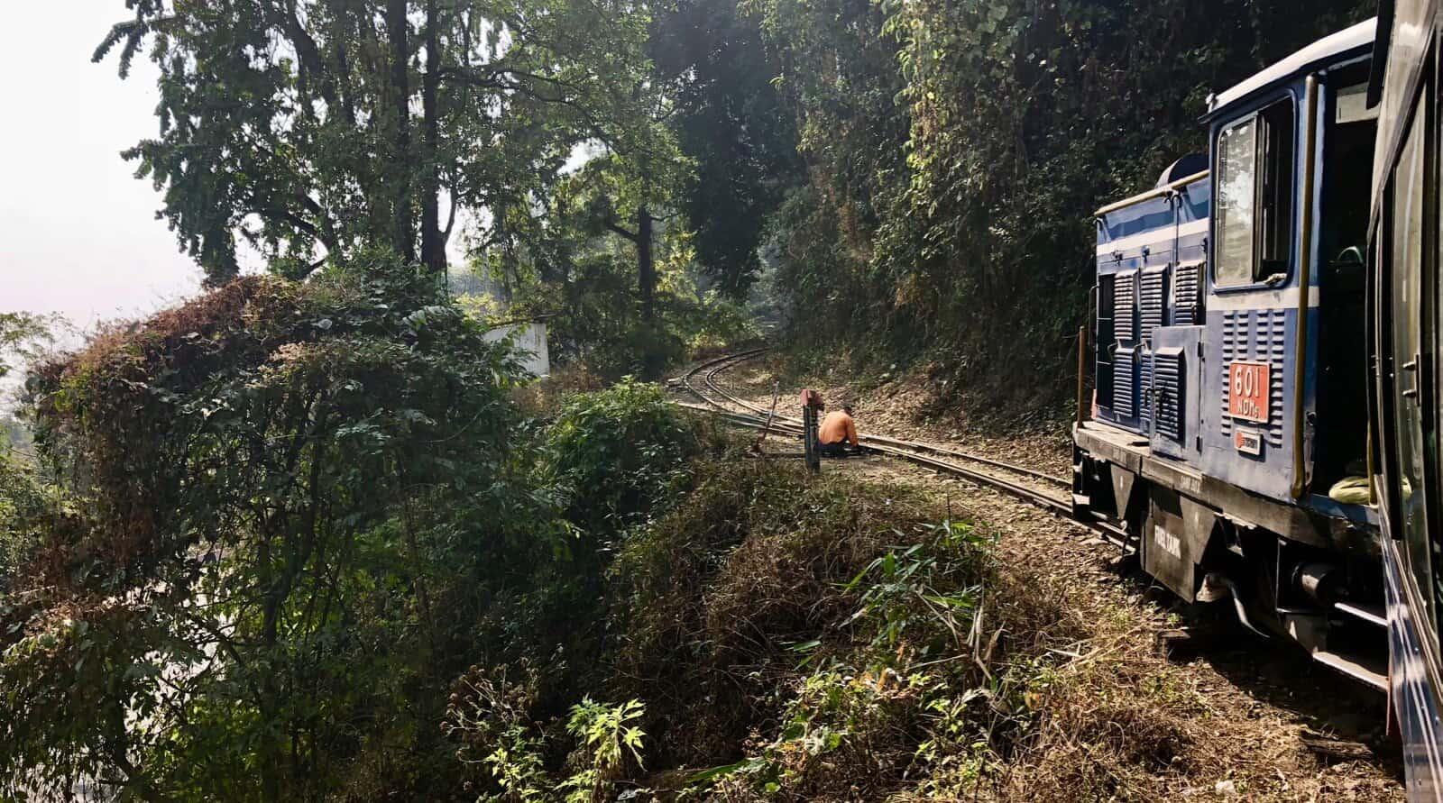 Darjeeling Hymalayan Railway toy train betternotstop